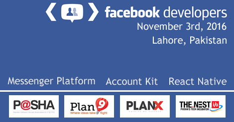 Facebook for developers, Lahore