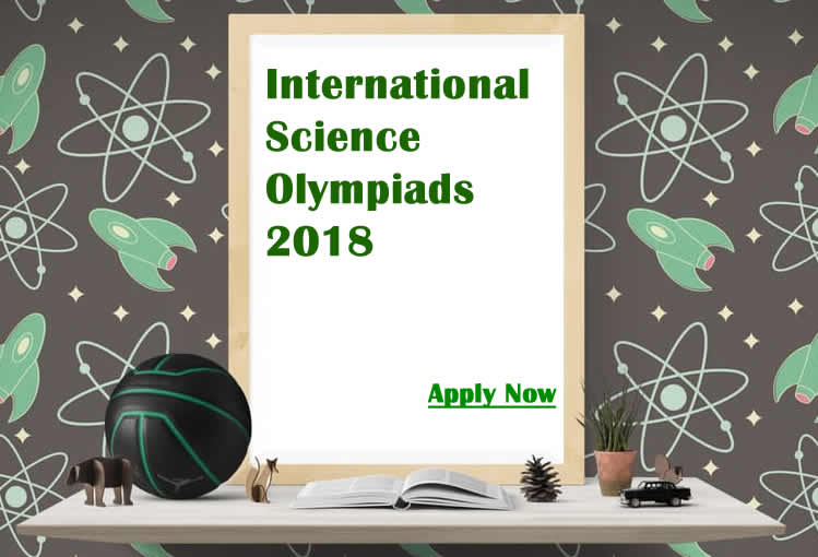 International Science Olympiads 2018 (ISO) applications are open now