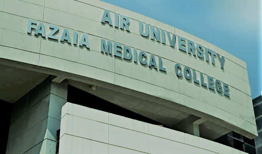 Fazaia Medical College (Air University) Admissions 2017-2022